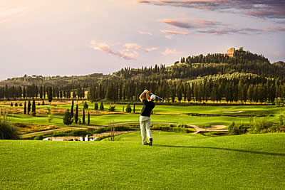 Golf Club Castelfalfi Toskana