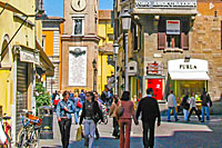Shopping und Spa in Parma