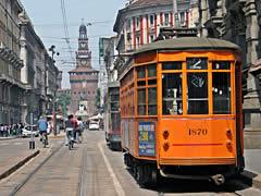 Mailänder Straßenbahn