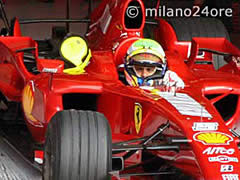Formel1 Rennwagen Ferrari