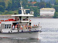 Minikreuzfahrt auf demComer See nach Bellagio