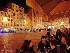 Nachtessen in Rom