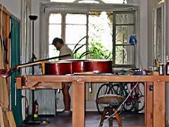 Cremona Atelier eines Violinenbauers