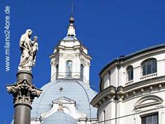 Turin, Dom mit der Kopie des Grabtuches