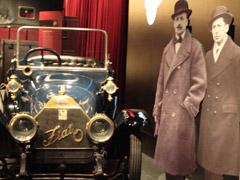 Automobilmuseum Turin, ein Highlight nicht nur f�r Autofans.