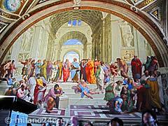 Vatikanische Museen: Raffaels Stanzen mit der Schule von Athen