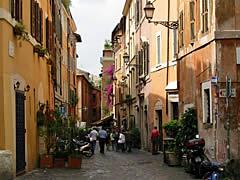 Abendliche Führung durch Trastevere, die Tiberinsel und das jüdische Viertel